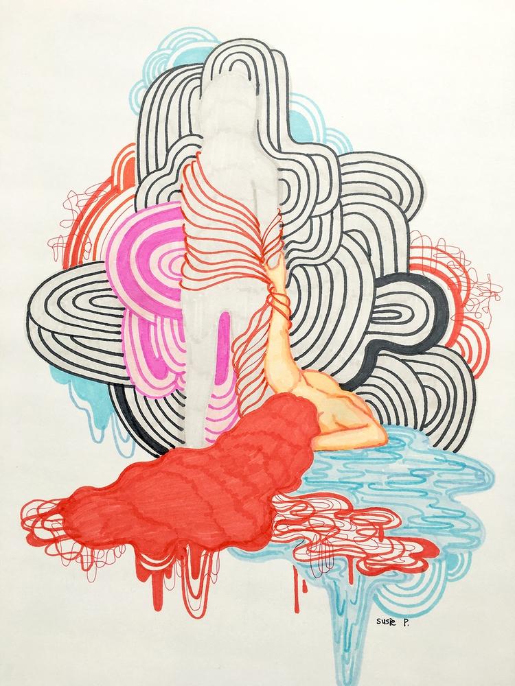 Hold Hand - susiepak, art, artist - susiepak | ello