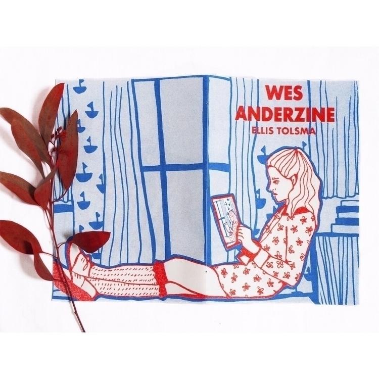 fanzine Wes Anderson risoprint - ellis_tolsma | ello