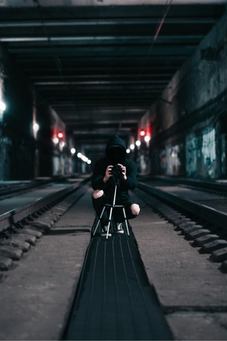 Fck - urbex, sony, urban, train - loquehayquever | ello