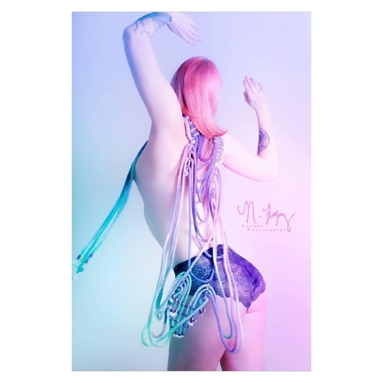 ropewear captured Naomi Loghry  - neonzinn | ello