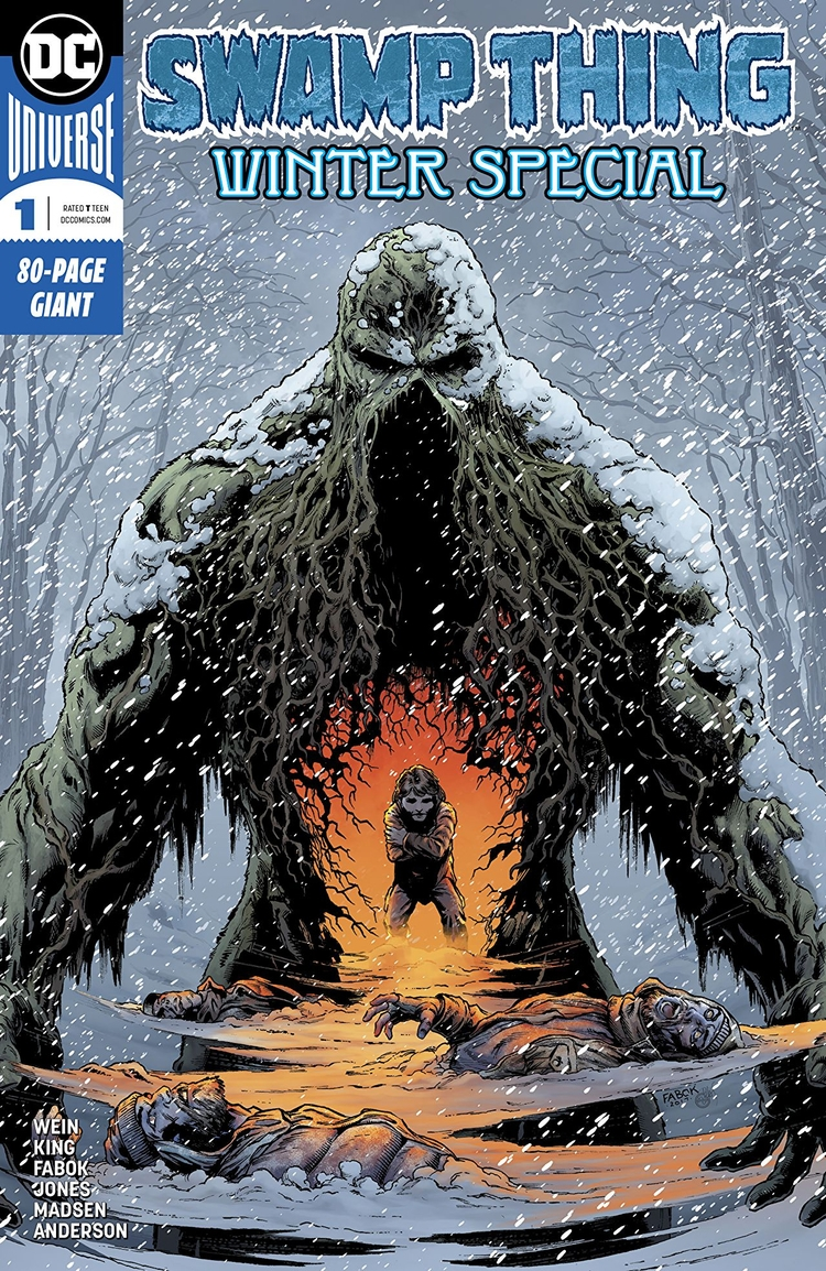 Swamp Winter Special DC Comics  - oosteven   ello
