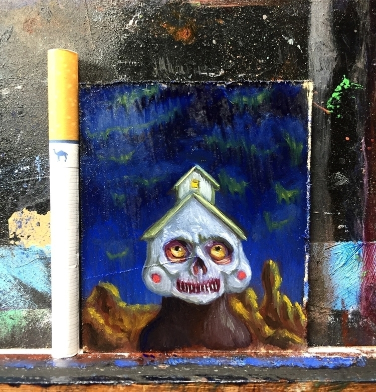 micro oil painting working Foll - jeremycross | ello