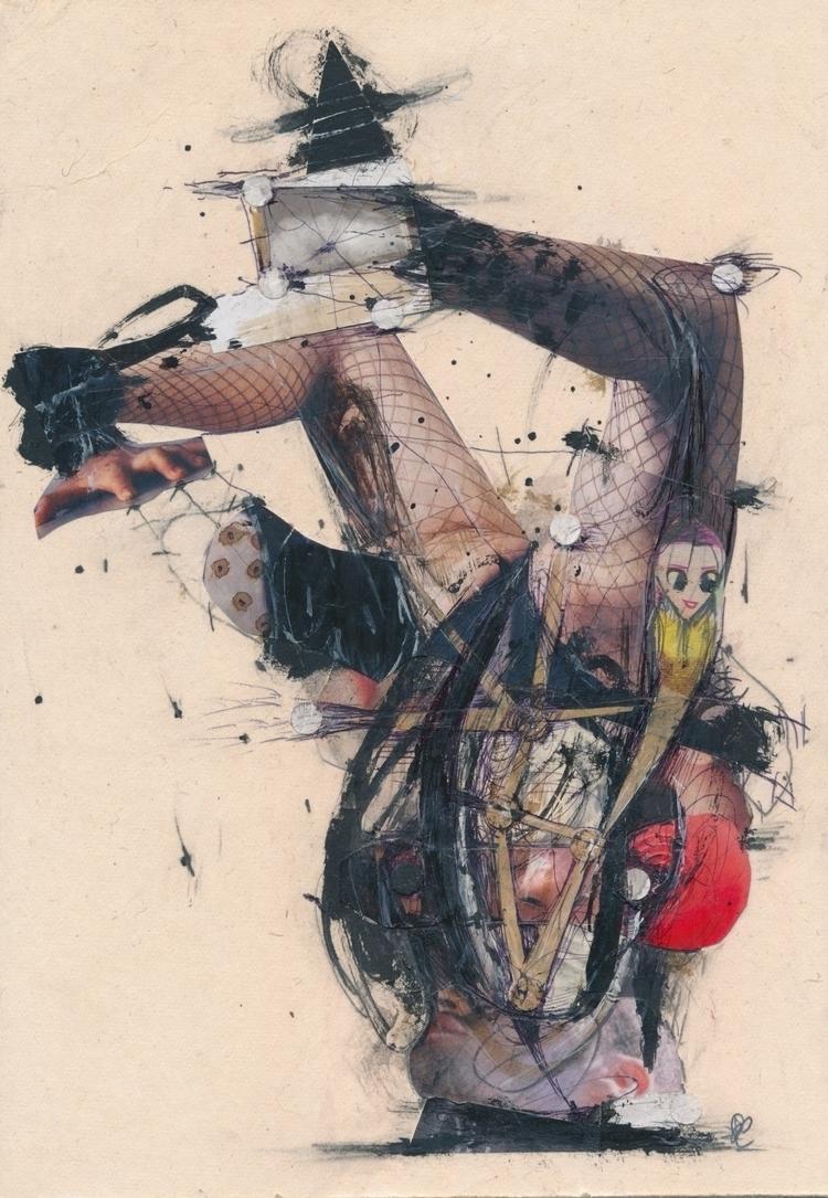 Wonderful mail art Pál Csaba/HU - papiergedanken-collage-art | ello