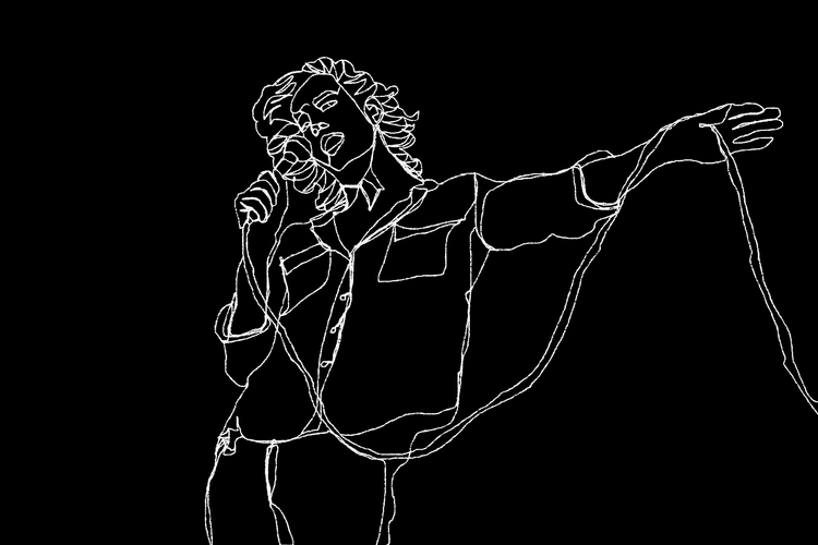 Matty Healy, 1975 Illustrated E - emeraldbartolome | ello