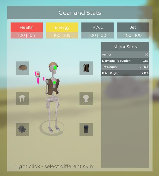 Added basic icons player panel - floatlands | ello