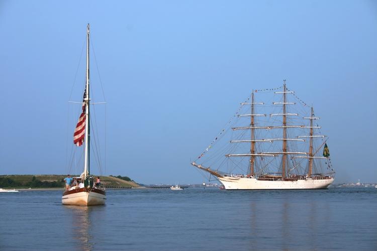 Tall Ship. Atlantic Beach, NC.  - davidapeterson   ello