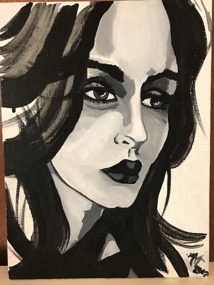 Acrylic canvas - mlvmt - mlvmt | ello