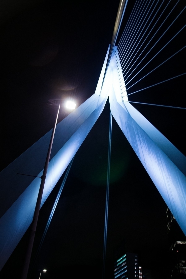 Rotterdam:bridge_at_night: foll - josushots | ello