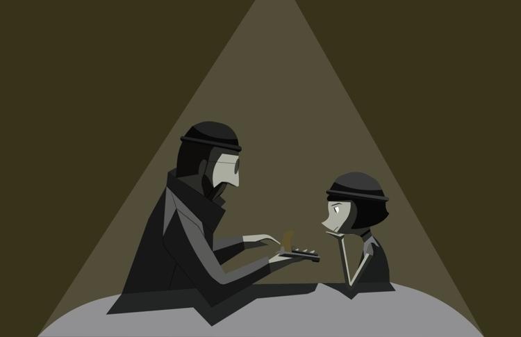 illustration movie León Profess - glolekisde | ello