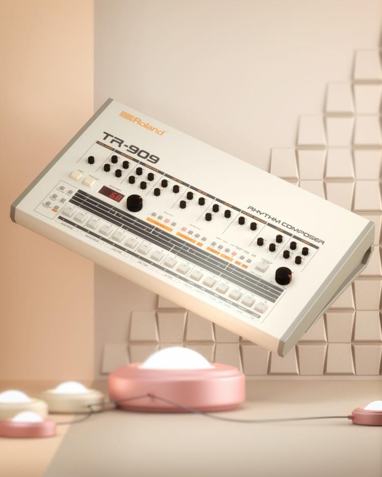 Roland TR-909 [1983] TR-808 ful - ericsmilde | ello