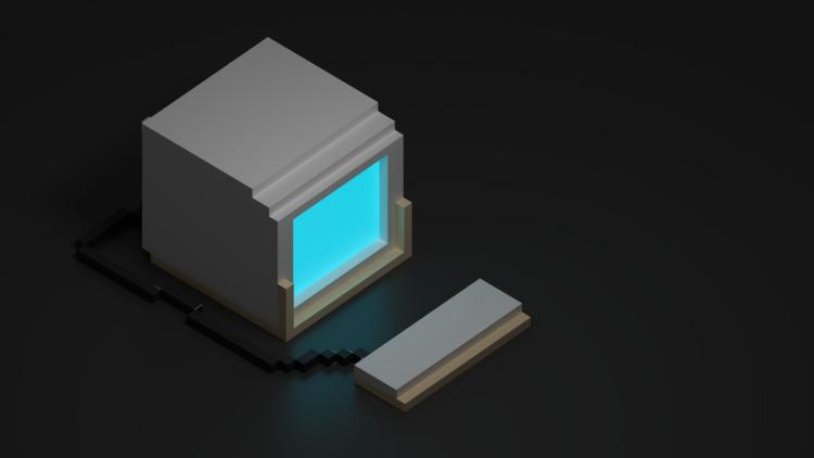 Goxel Blender - 3d, blender, voxel - teddydd | ello