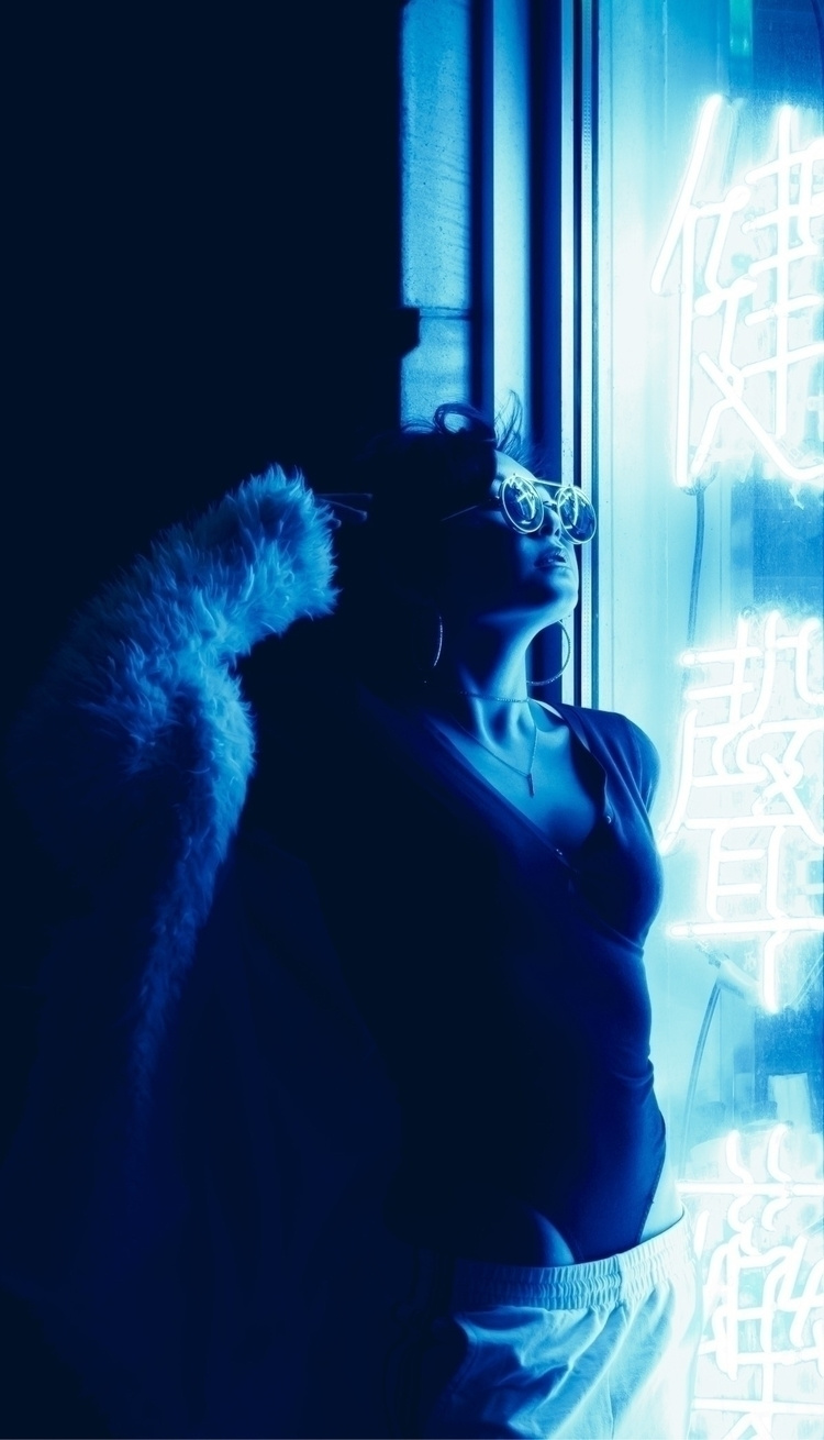 Neon dreams - photography, portrait - kpphotography | ello