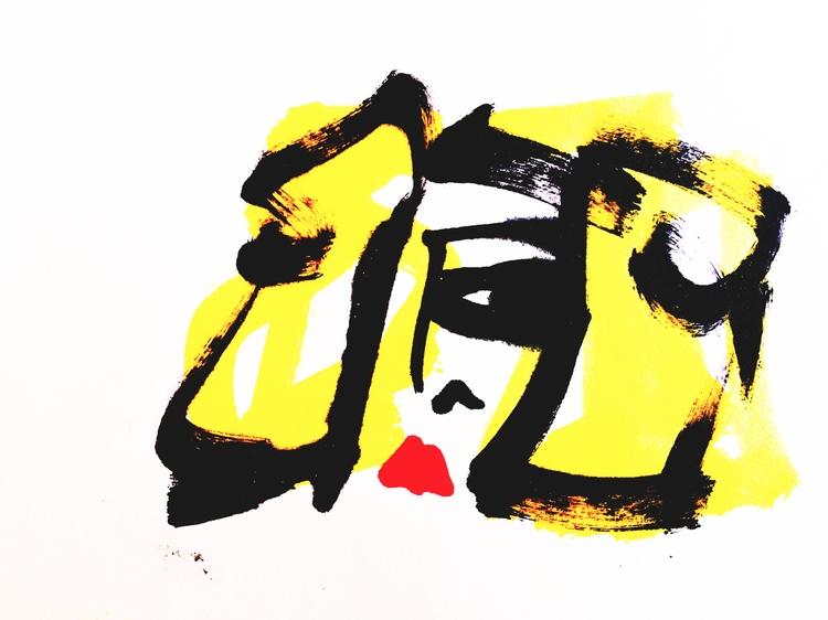 Big Eye prints - art, artists, illustrators - jkalamarz | ello