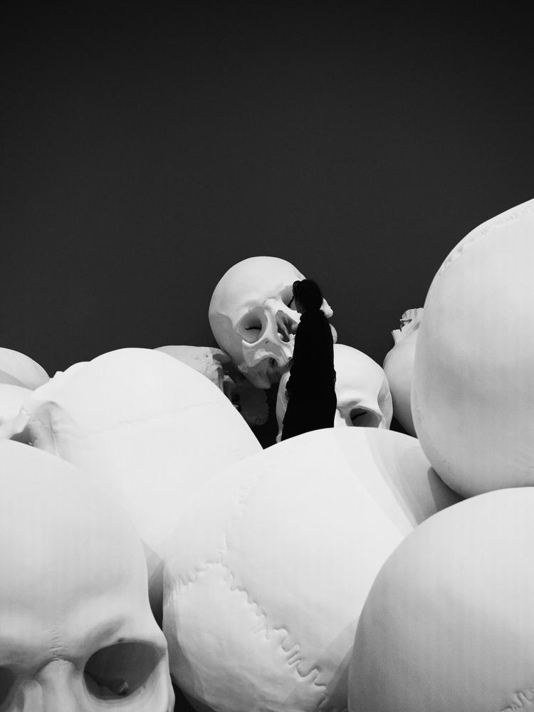 skull, people, city, street, photography - kubothekid   ello