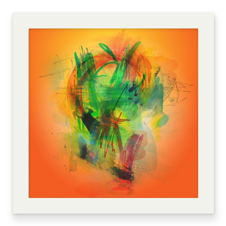 piece Jadon Ulrich 'Pixel Palet - helikongallery | ello