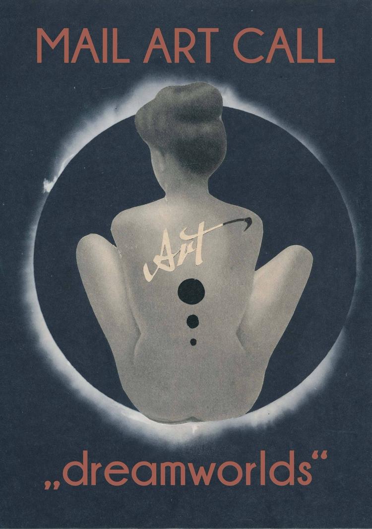 CALL ARTISTS: MAAV (mail art ar - papiergedanken-collage-art | ello