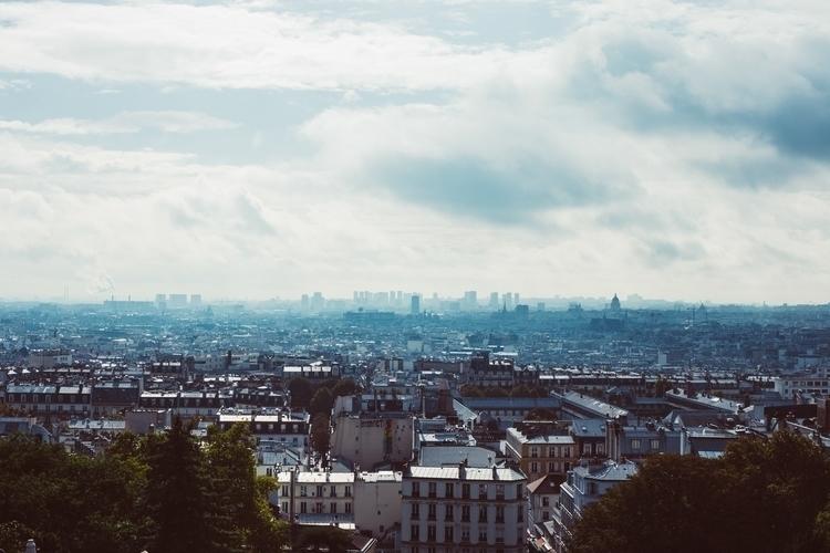 Paris, France. Sacre-Coeur, top - miquelcasey | ello