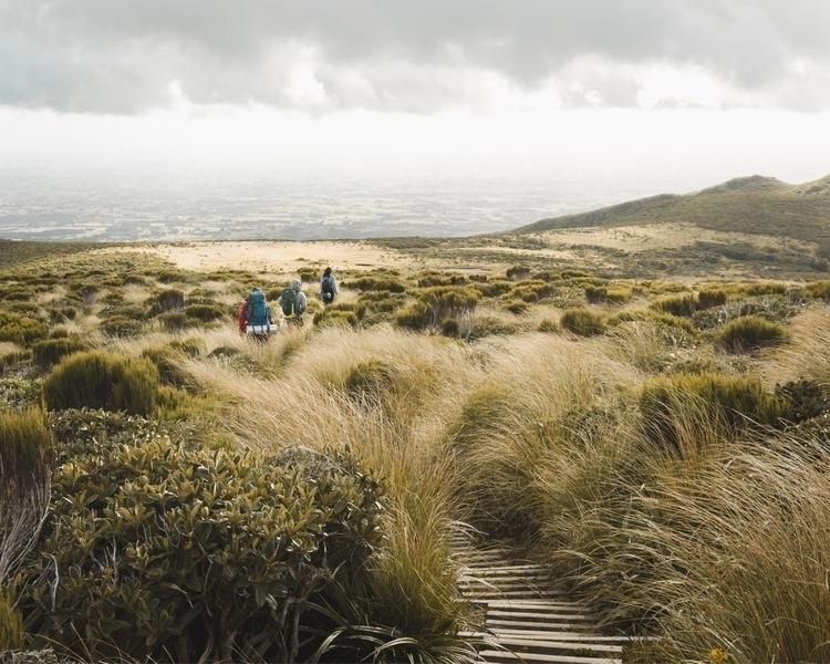 Poukai Tarns - photography, camping - themisirlou | ello