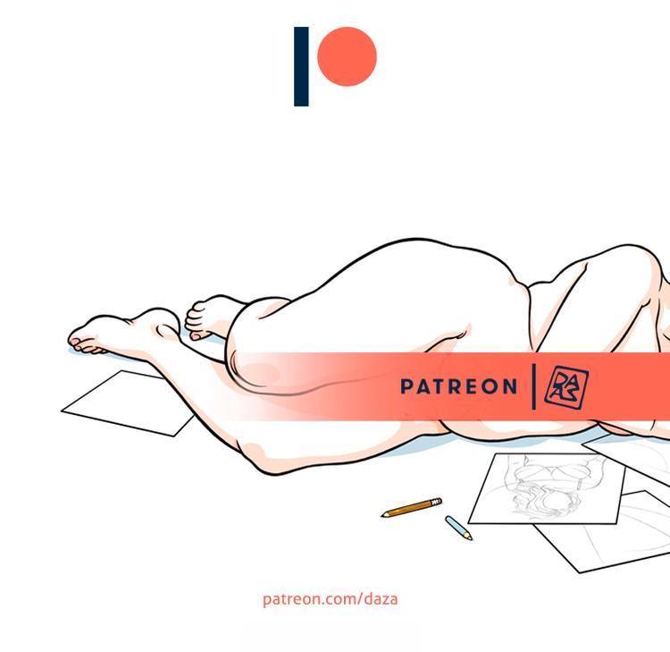 week Patreon dedicated recovery - da_za | ello
