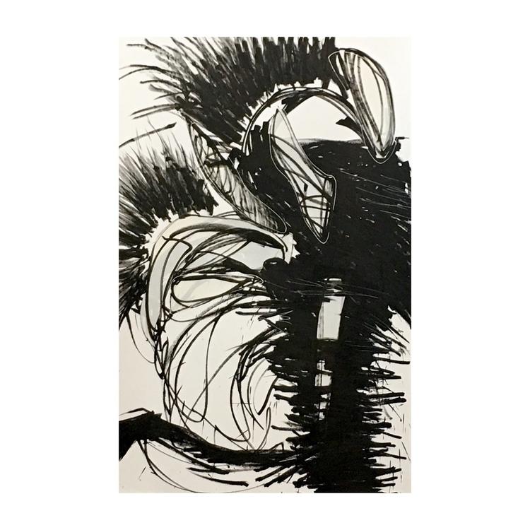 Untitled. Marker, ink collage p - jeanmichelcomte | ello