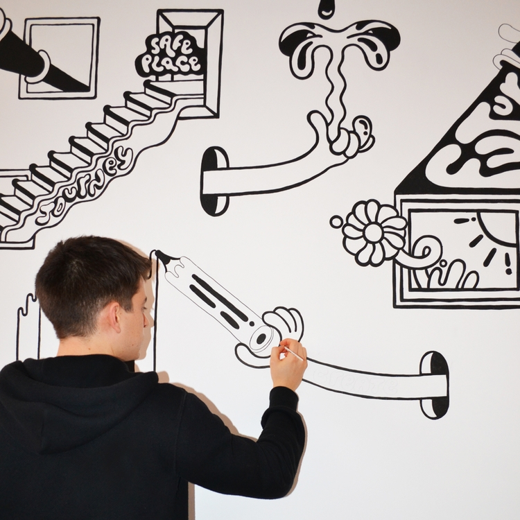 crop mural commission year, UK  - jamiekirk | ello