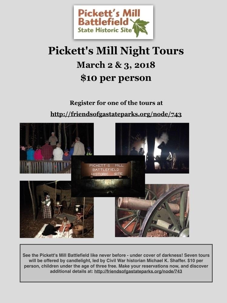 Register upcoming night tours M - mscivilwar   ello