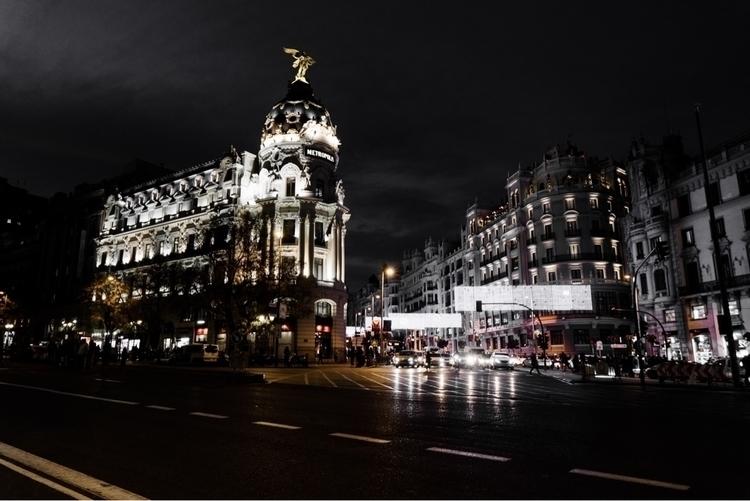 Metropolis - madrid, city, europe - alphaevil | ello