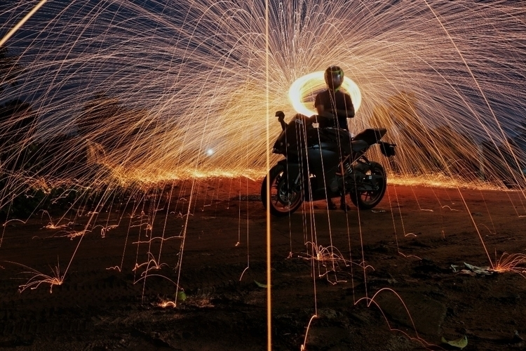 steel wool photography - thomz_babu | ello