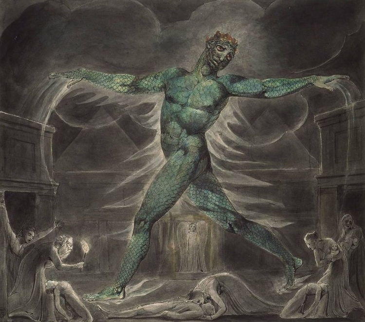 ARTIST: William Blake Pestilenc - johnhopper | ello