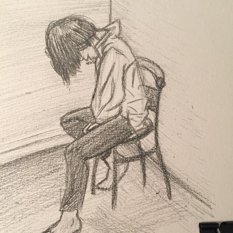 figure study realism Graphite m - angelicdruid | ello