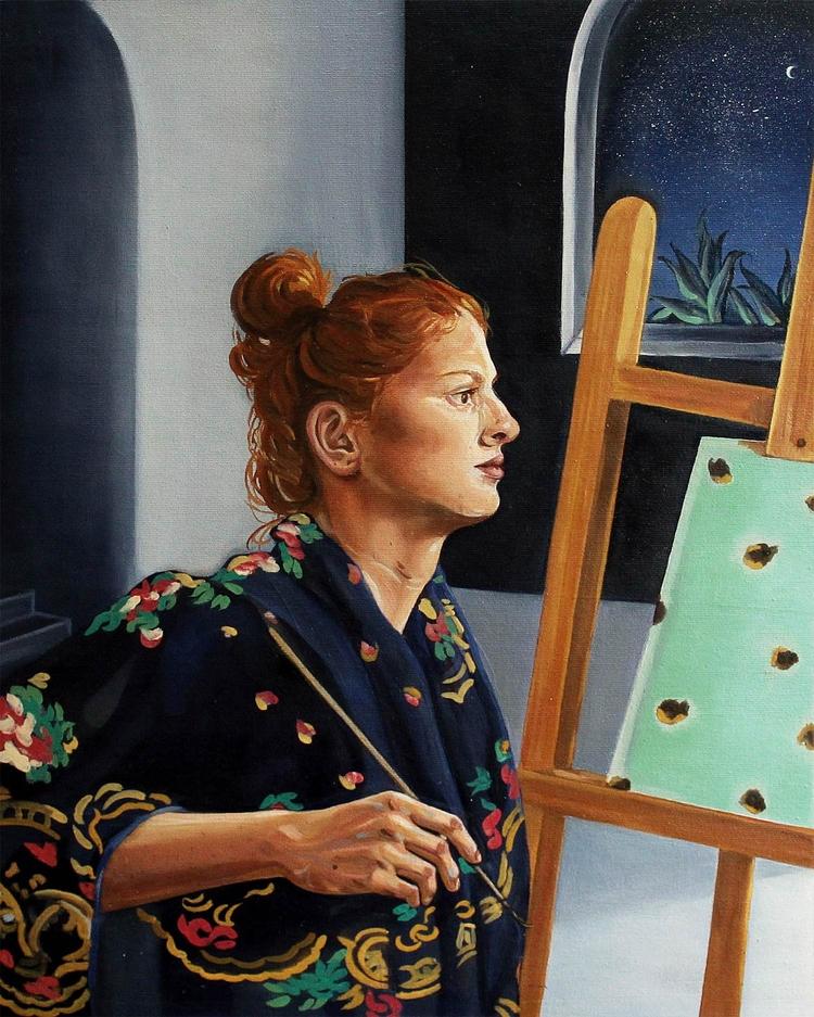Remedios, 2016 Oil painting 35  - mayaranardo | ello