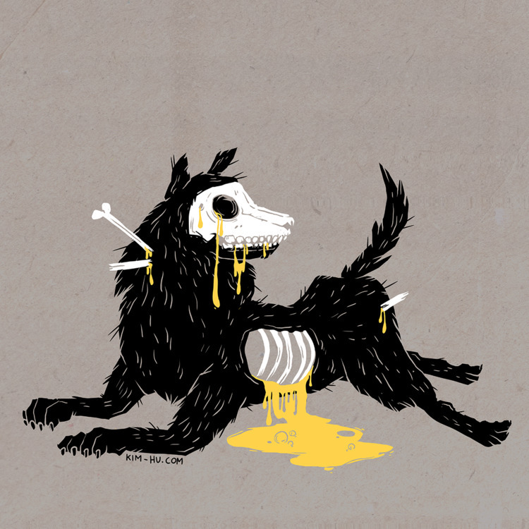 Year Dog- Personal Project / 20 - kimhu | ello