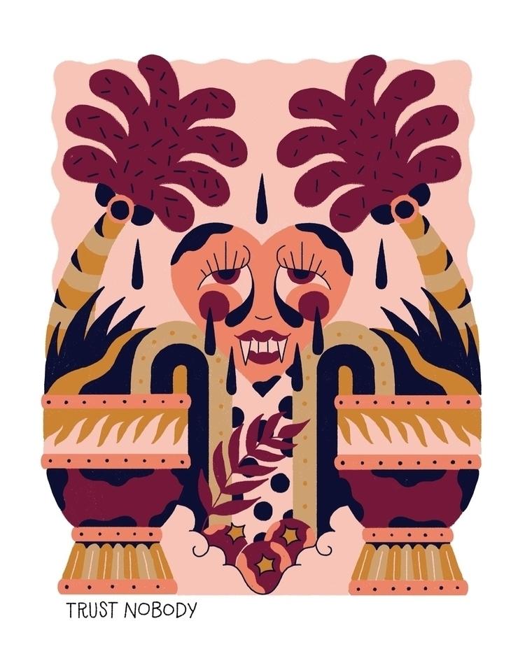 illustration, ilustración, illust - mariarz | ello