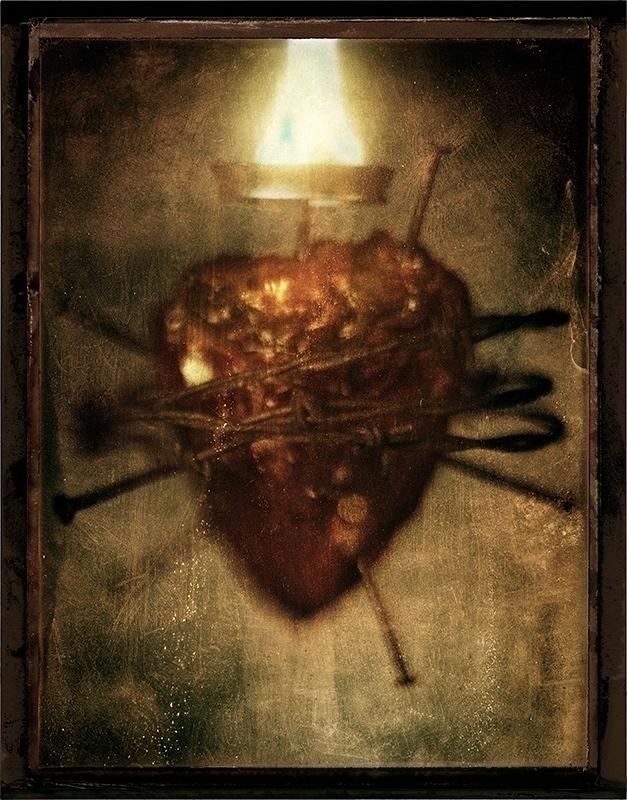 Real heart. barb wire. nails. f - jameswigger | ello
