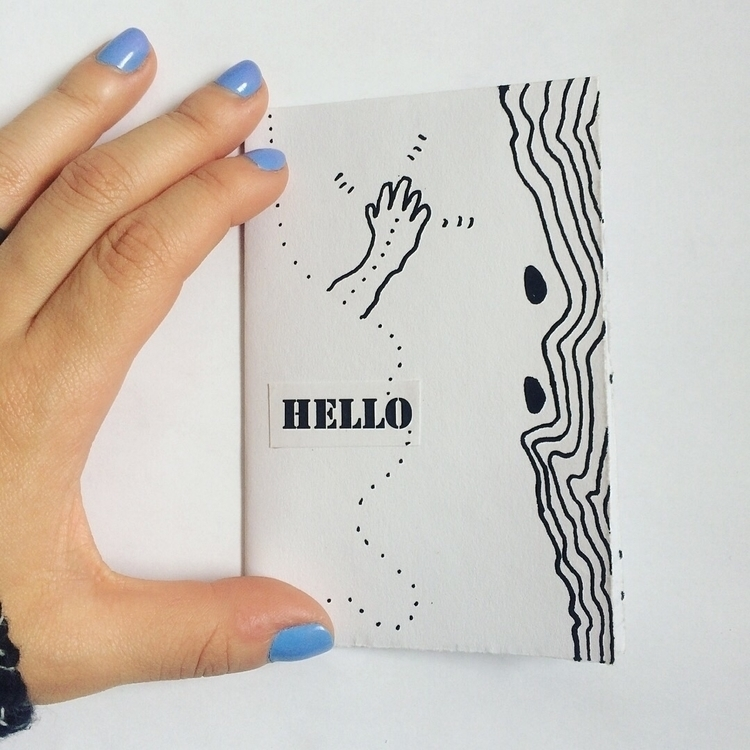 freshly finished - zine, bookmaking - cynthiagironartist | ello