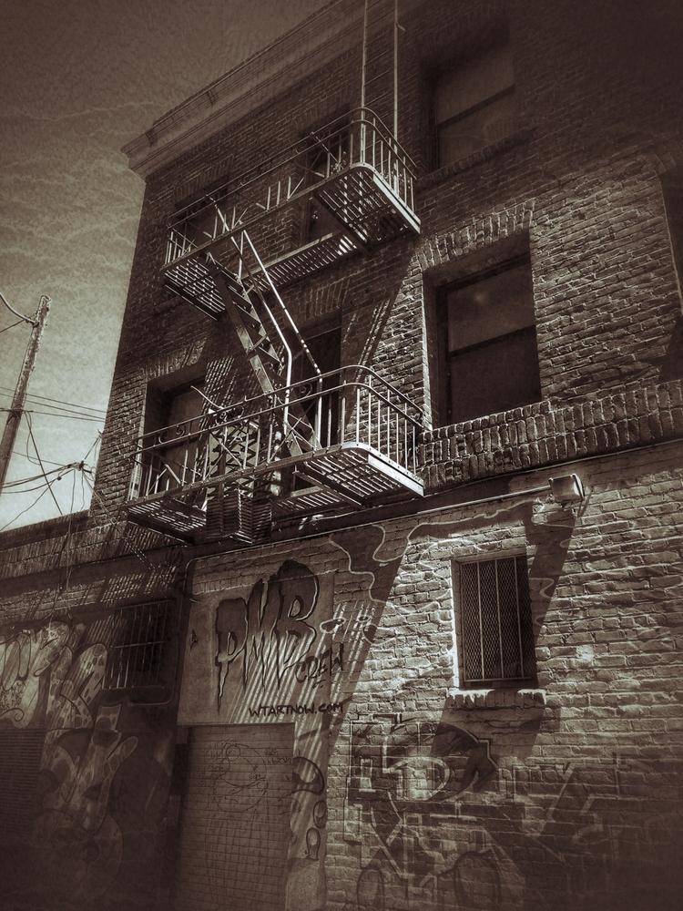 pmb alleys sunset - photography - voiceofsf | ello