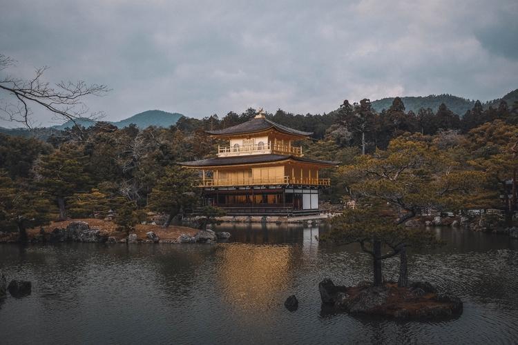 Kinkaku-ji, Kyoto, Japan. Jimee - jimeeclarke | ello