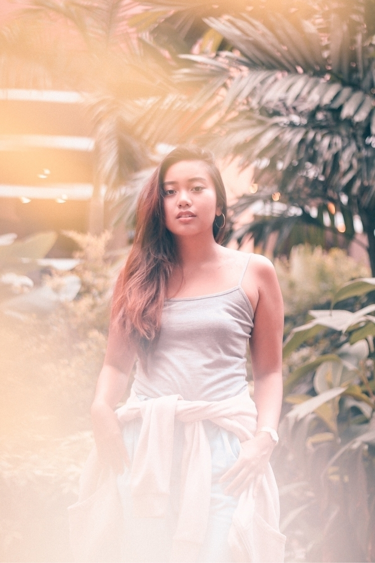 Tropical  - portrait, woman, philippines - junessa | ello