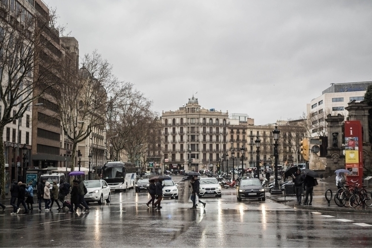 Rainy Barcelona  - rainy, photography - pere_itchart | ello