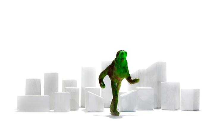 Ecological disaster - sculpture - zeptilian   ello
