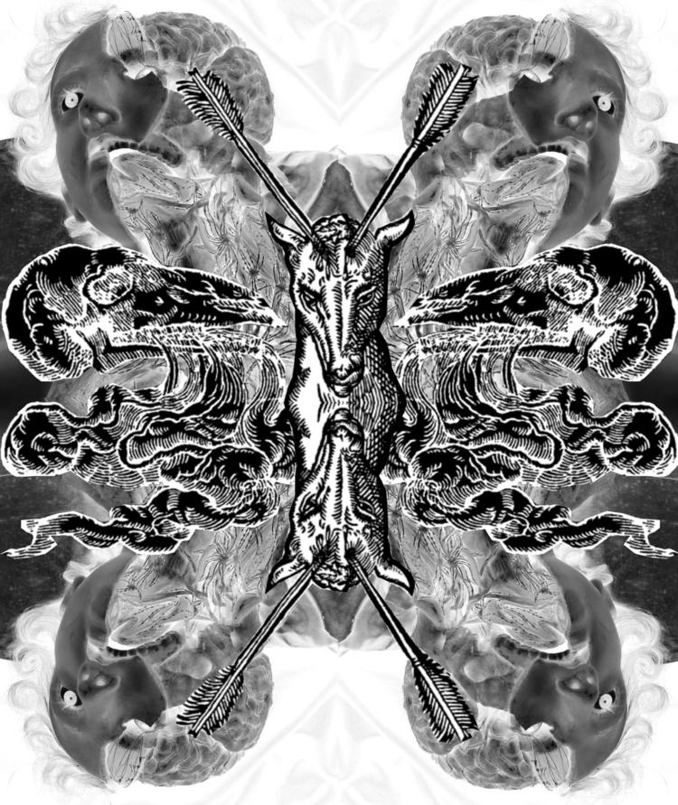 James, analog digital collage a - serpentariumstickers | ello