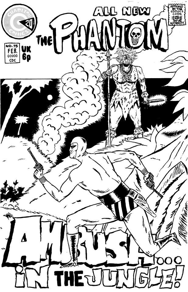 Phantom fan cover comic exist,  - patrooks | ello