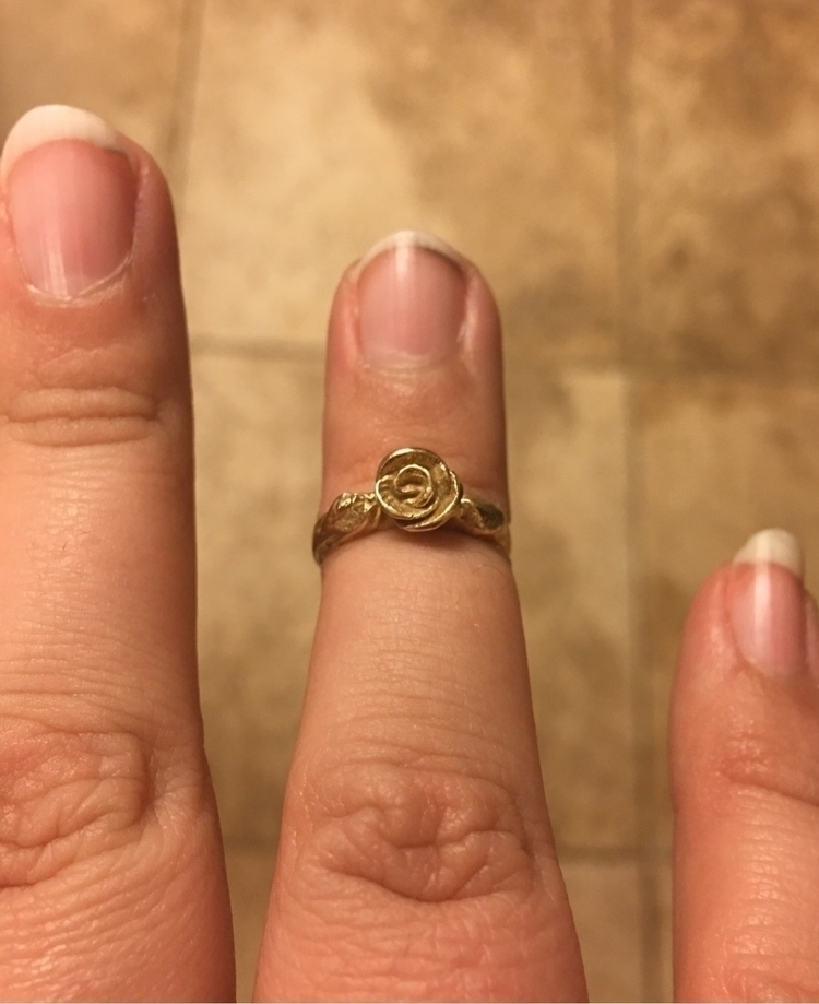 Rosebud Midi/Baby Ring personal - sammahsamalabam | ello