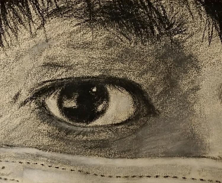 drawing, pastels - kenchan97 | ello