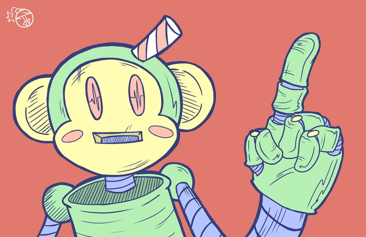 Monkey-Bot Prime - jbombcreative | ello
