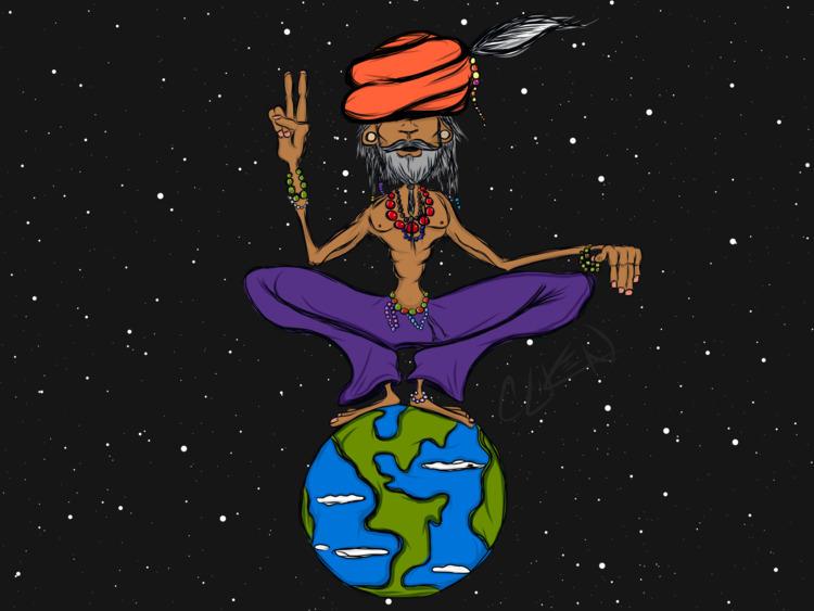 """Namaste - guru, onelove, peace - brock5teady | ello"