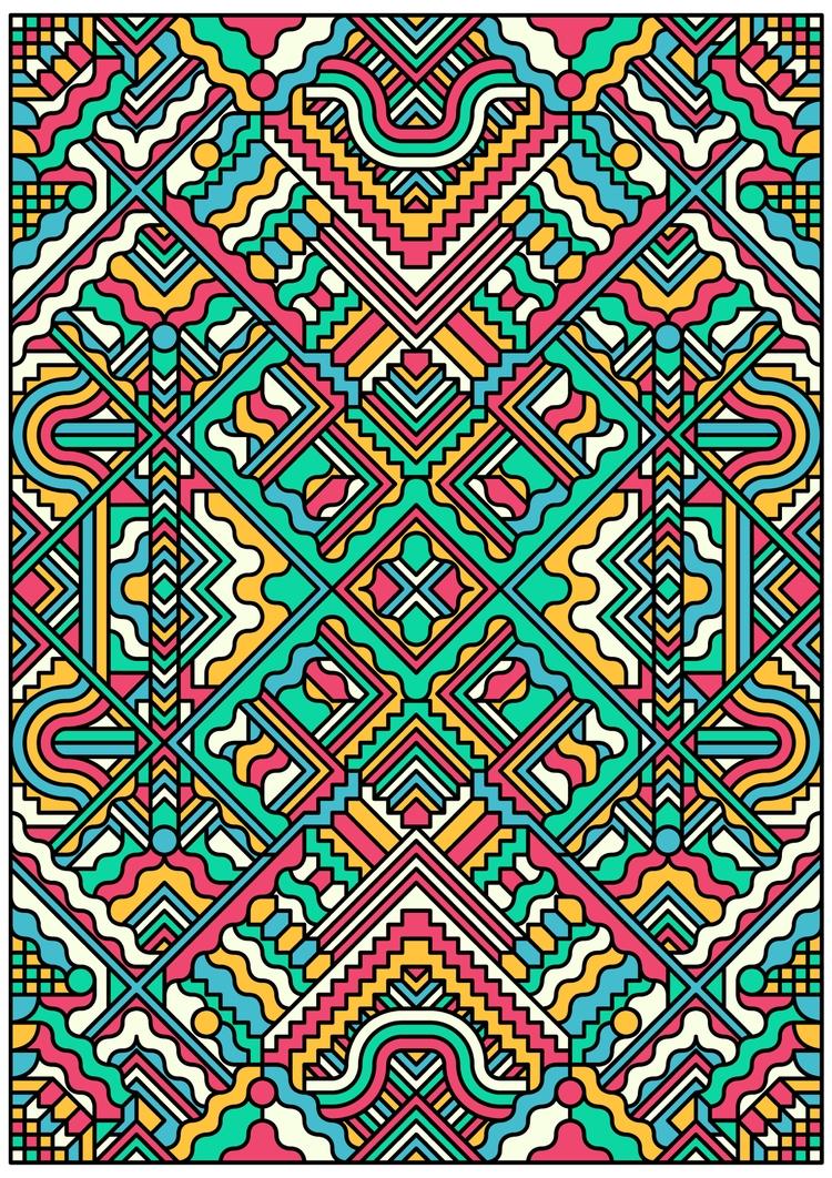 Umi - graphicdesign, poster, pattern - madebytak | ello
