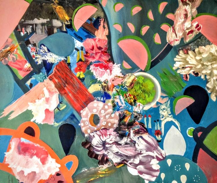 Tanaka California based artist  - tanakajpeg | ello