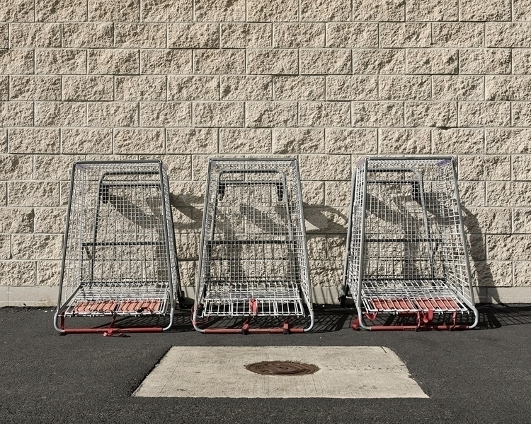 Shopping Carts - hawaii, photography - shanesakata | ello