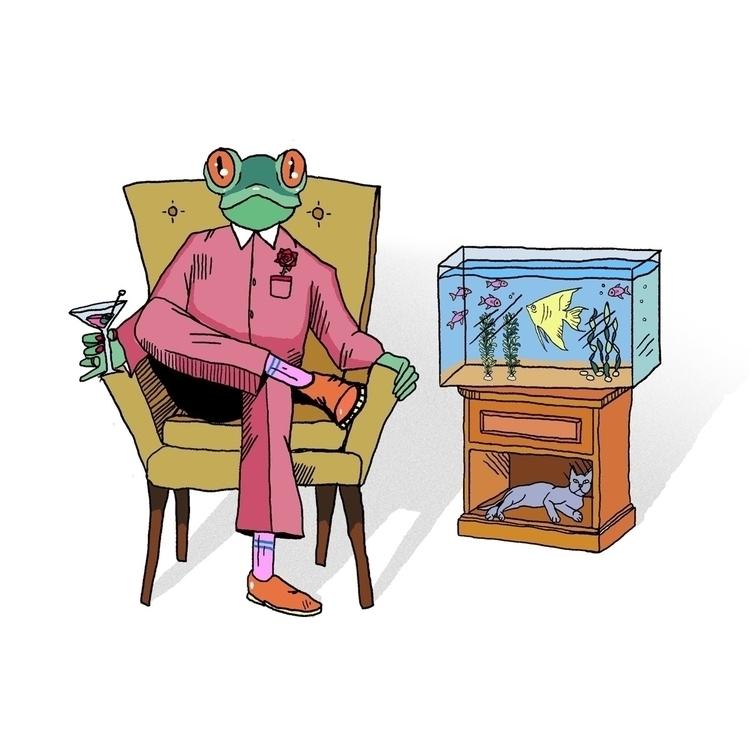 jacksongibbs#illustration#illustrator#ello#lowbrowart#artist#jacksongibbsart - jacksongibbs | ello